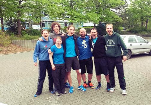 Das Team in Beckum
